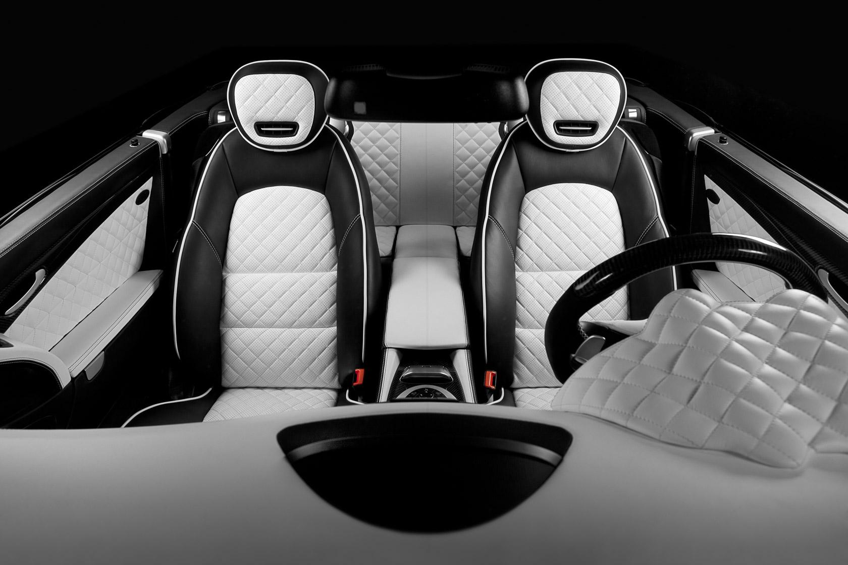 Mercedes Range Rover Interior Design, Front View
