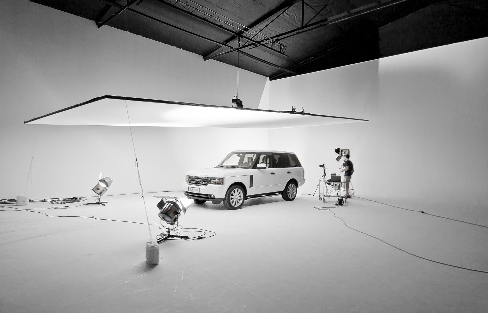 Automotive Photography - Studio Set Design