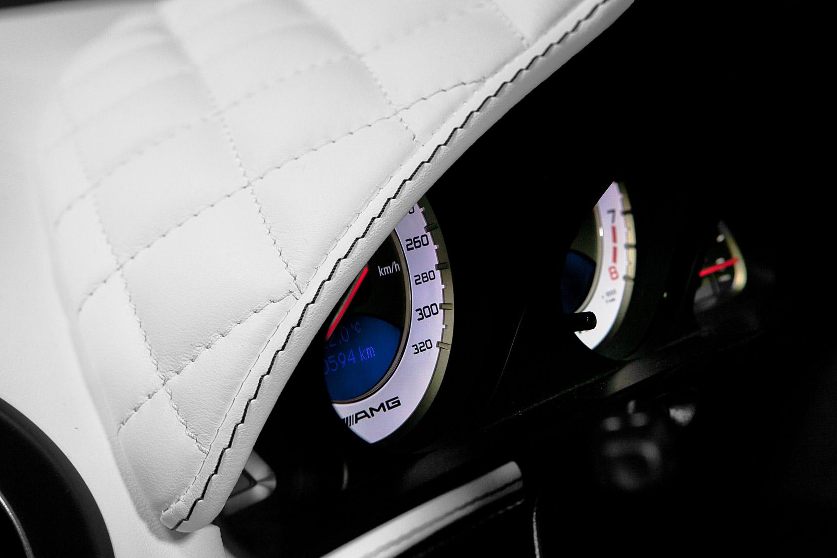 Mercedes Range Rover Interior Design, Dashboard